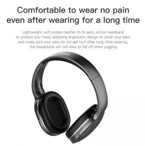 Baseus D02 Bluetooth Headphone Portable Earphone Bluetooth Headset Stereo Wireless Headphones With Microphone For Phone Computer 4