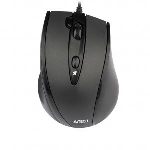 Mouse A4 V track padless n 770fx black optical 1600dpi USB 5but 3 1
