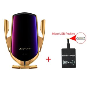 Smart Sensor Wireless Car Charger QI 10W Fast Charging Holder Compatible For iPhone Xs Xs Max.jpg 640x640