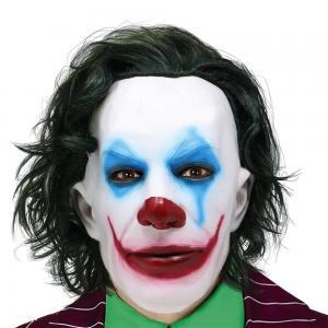 mask mr smile joker latex