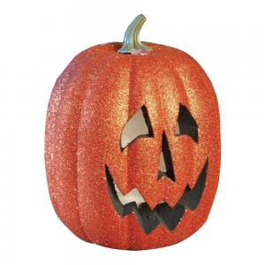 pumpkin with sparkles with light 25 cm