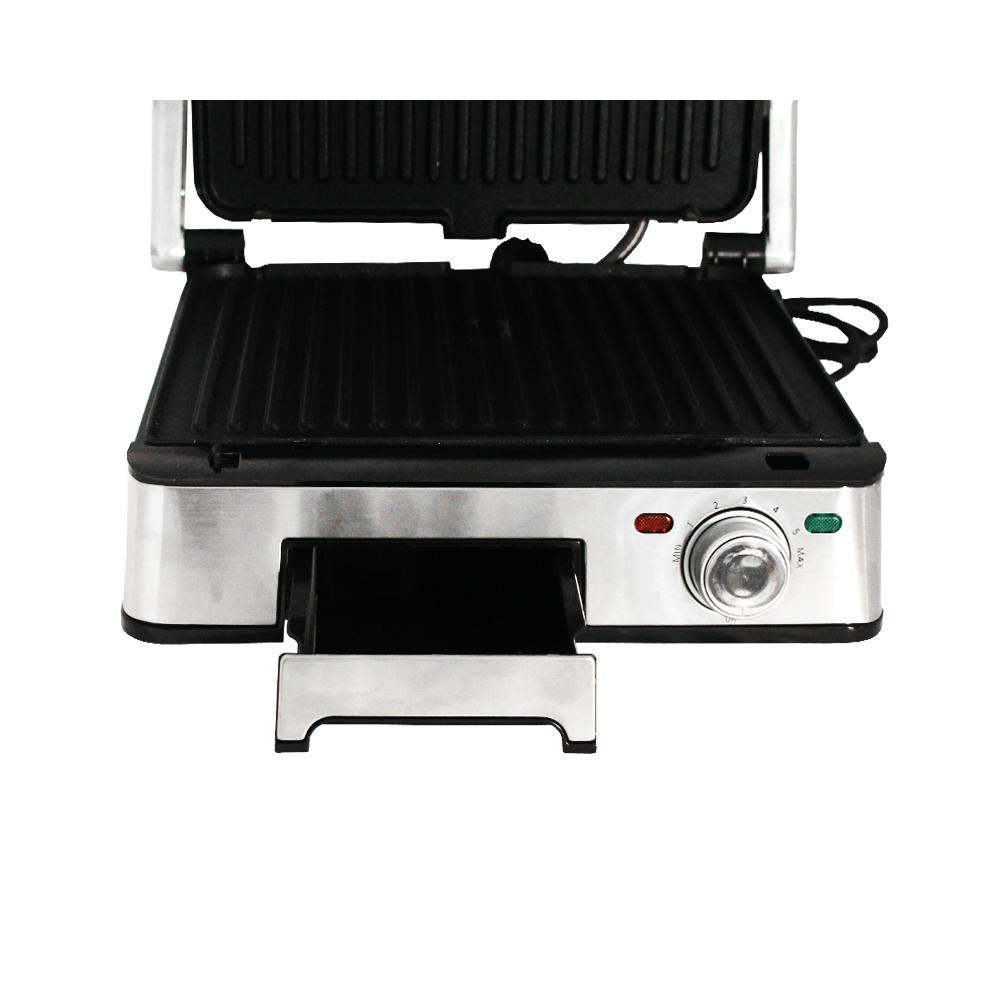 barbecue grill electrique 1800w dsp kb1045 silver 1