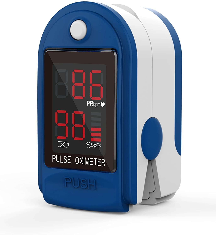 Mates Oksigjeni ne Gjak Fingertip Pulse Oximeter ClinicalGuard® CMS 50DL 1