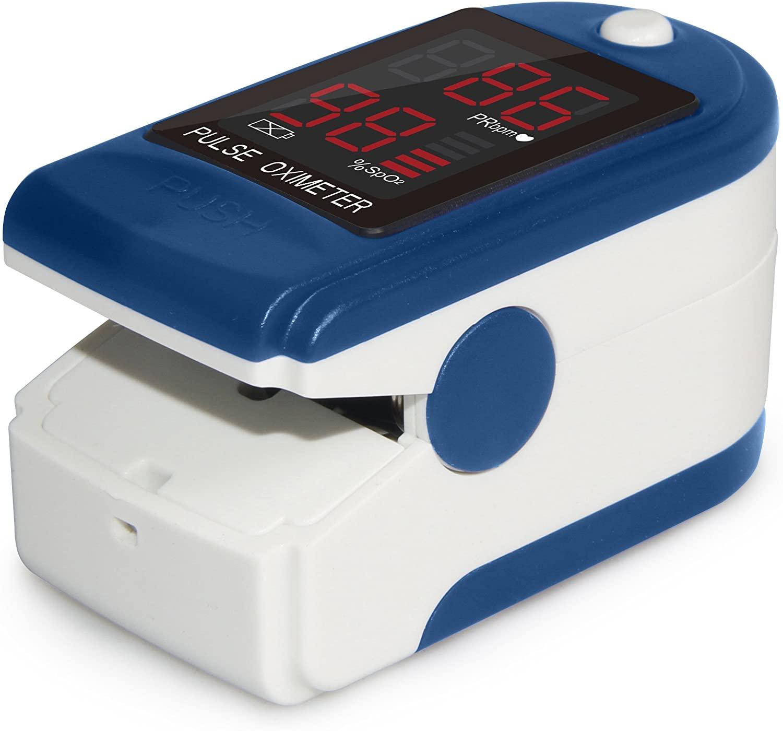 Mates Oksigjeni ne Gjak Fingertip Pulse Oximeter ClinicalGuard® CMS 50DL 2