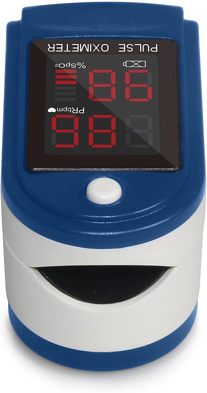 Mates Oksigjeni ne Gjak Fingertip Pulse Oximeter ClinicalGuard® CMS 50DL 4