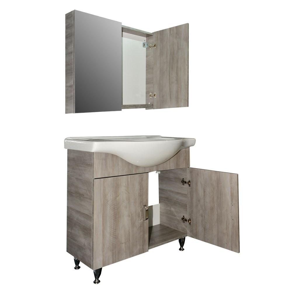 Mobilje tualeti PROFIT 85 DROP melamine natyral 224209 2