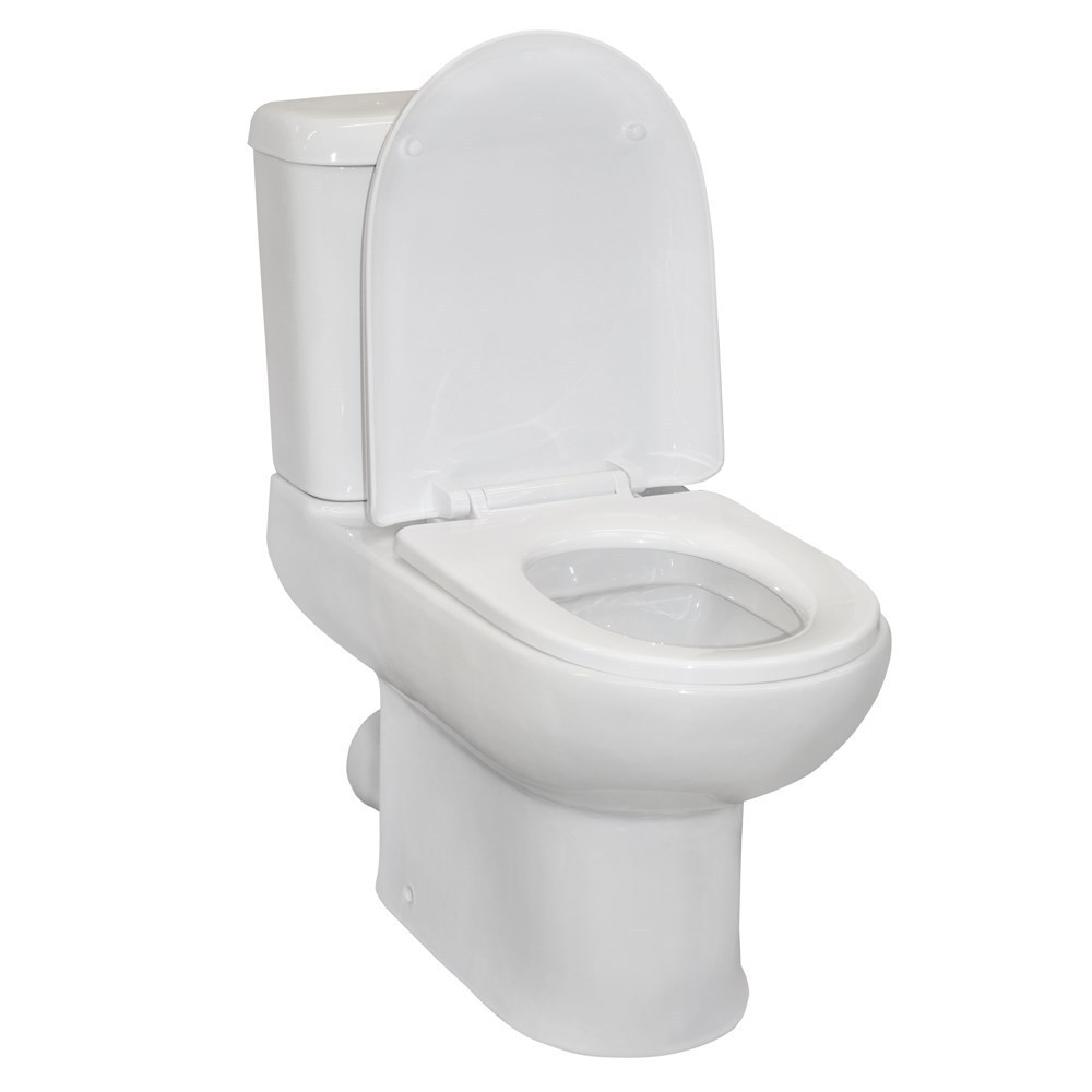 wc atlanta wall mounted porcelain white p trap 61x37xh76 cm 1